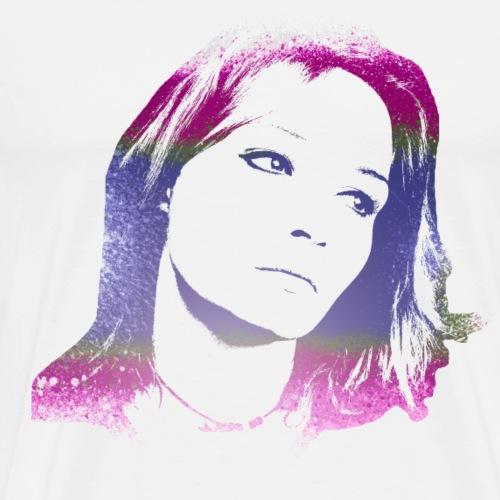 Farbenspiel Woman - Männer Premium T-Shirt