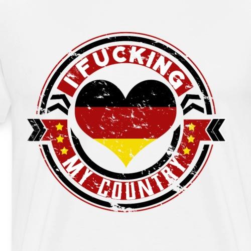 I love my country Deutschland - Männer Premium T-Shirt
