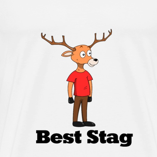 Best Stag - Men's Premium T-Shirt