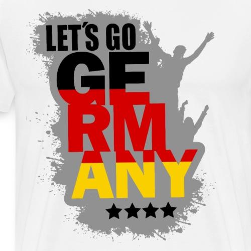 Germany Deutschland Weltmeister Fan Shirt - Männer Premium T-Shirt