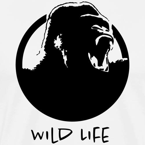 Wild Life - Gorilla - T-shirt Premium Homme