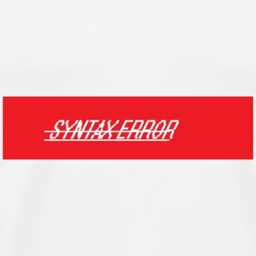 Syntax_Error Season ONE - Männer Premium T-Shirt