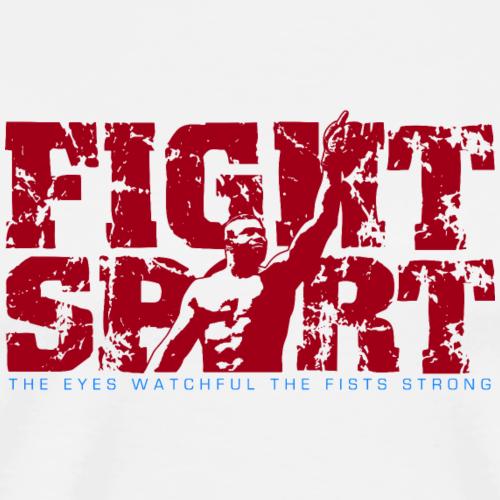 SPEER FIGHTSPORT - Männer Premium T-Shirt