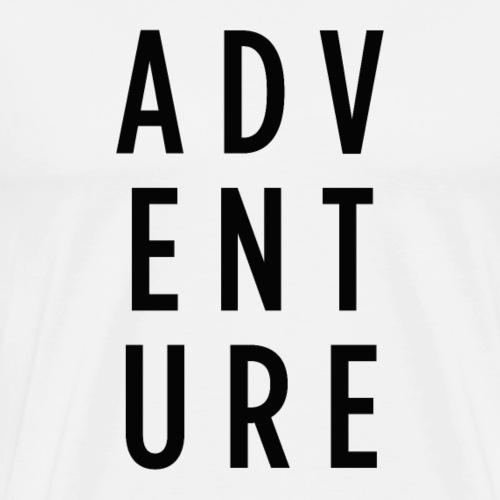 ADVENTURE - T-shirt Premium Homme