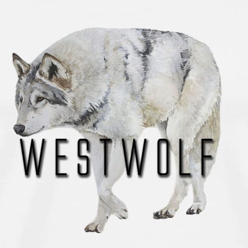 Westwolf: Wolf - Männer Premium T-Shirt