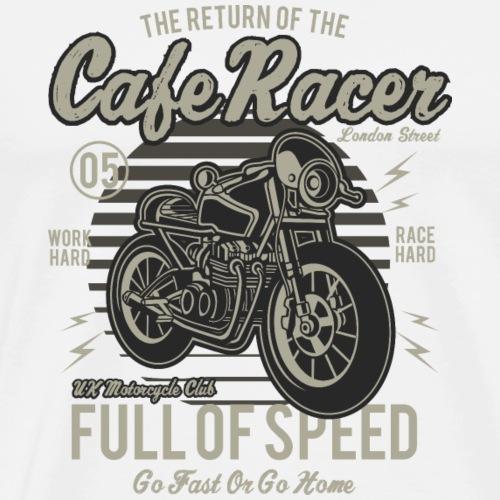 Cafe Racer - Männer Premium T-Shirt