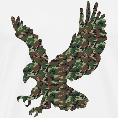 Camo 1 Eagolution - Premium T-skjorte for menn
