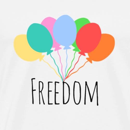 Freiheit - Männer Premium T-Shirt