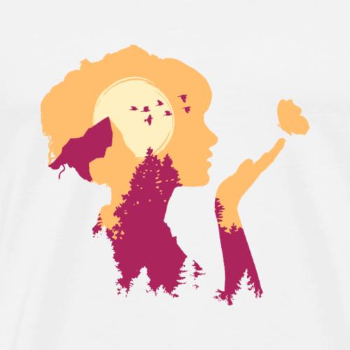 Bergliebe - Männer Premium T-Shirt