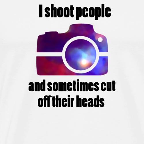 Fotograf Spiegelreflexkamera Lustig Ironisch - Männer Premium T-Shirt