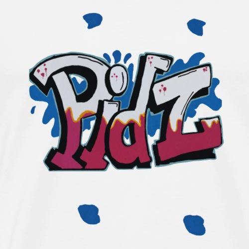 Pidz Graffiti - Männer Premium T-Shirt