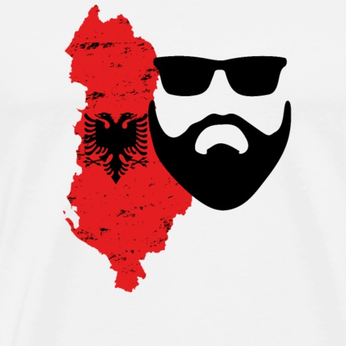 Bart Motiv  Montenegro  - Männer Premium T-Shirt