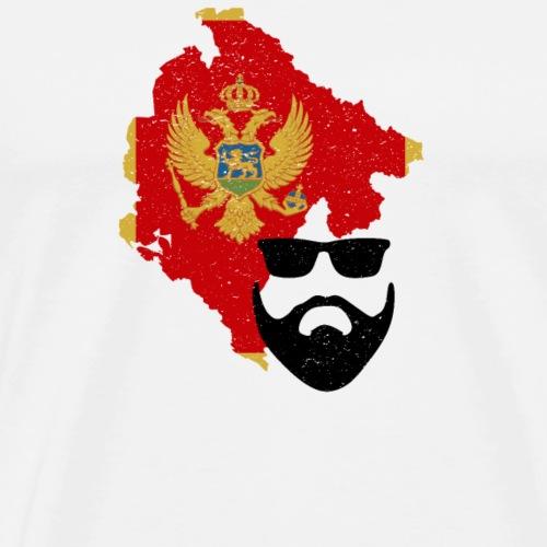 Bart Motiv  Montenegro 2  - Männer Premium T-Shirt