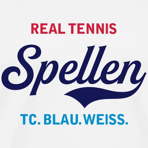 REAL TNNS SPELLEN NEU - Männer Premium T-Shirt