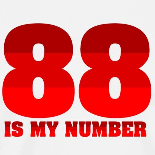88 is my number - Maglietta Premium da uomo