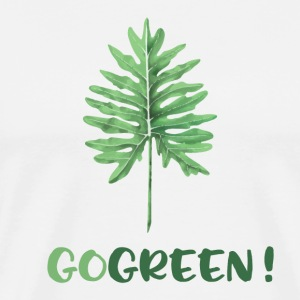 GO GREEN! - Men's Premium T-Shirt