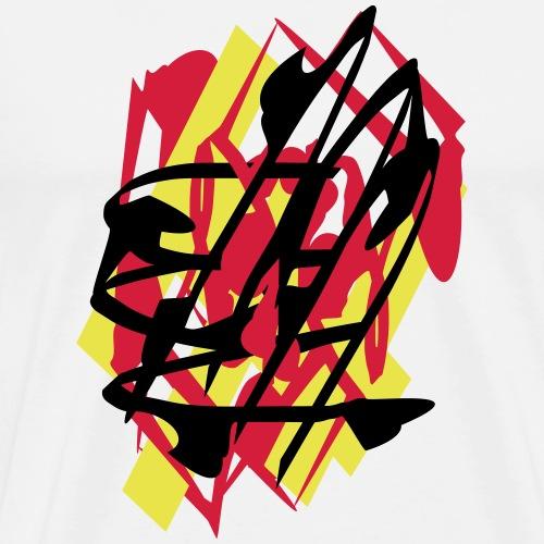deutschland grafiti - Männer Premium T-Shirt