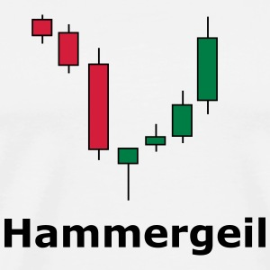 Candlesticks - Hammergeil - Männer Premium T-Shirt