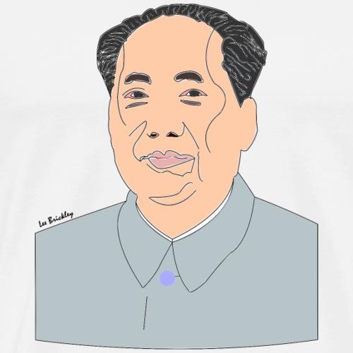 Mao Zedong revolutionary design - Men's Premium T-Shirt