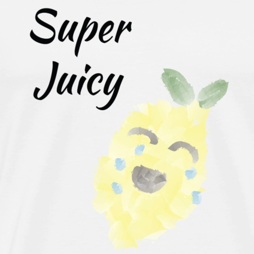 Zitrone super juicy - Männer Premium T-Shirt