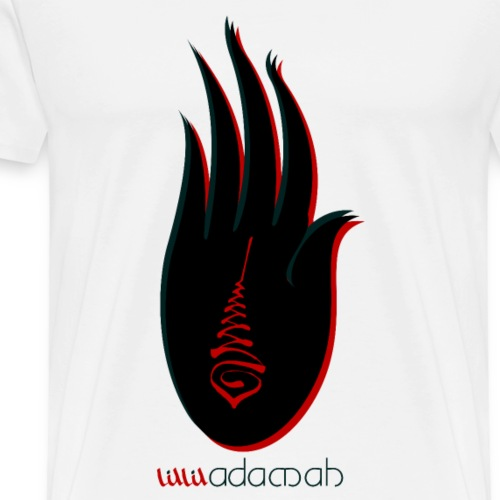 Buddha Hand.: Good luck - Men's Premium T-Shirt