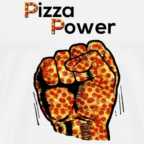Pizza Power - Männer Premium T-Shirt