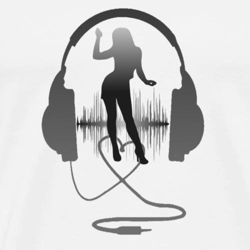 casque1 - T-shirt Premium Homme