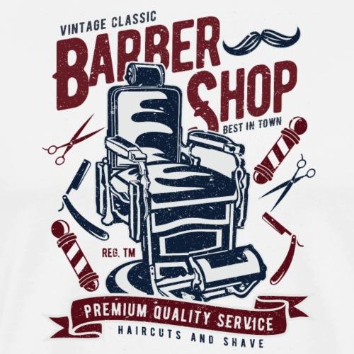 Vintage Barber Shop - Männer Premium T-Shirt