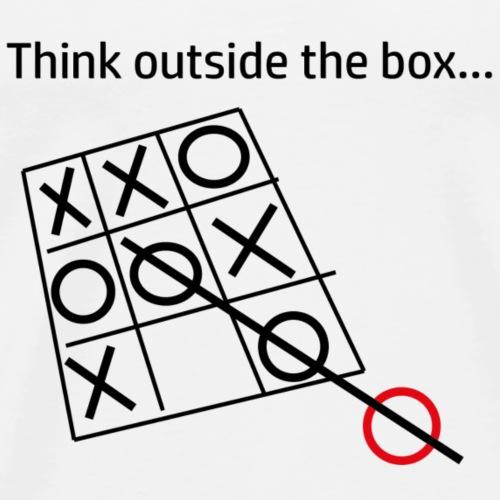 Think outside the box ... - Männer Premium T-Shirt