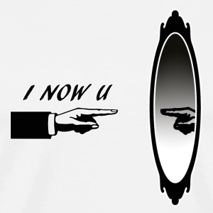 I_NOW_YOU - Premium T-skjorte for menn