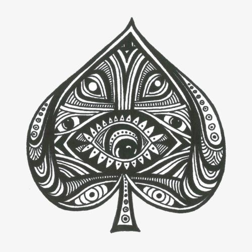 Spade Eye - Männer Premium T-Shirt