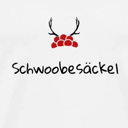 Schwoobesäckel - Männer Premium T-Shirt