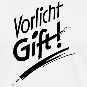 Vorsicht Gift - Männer Premium T-Shirt
