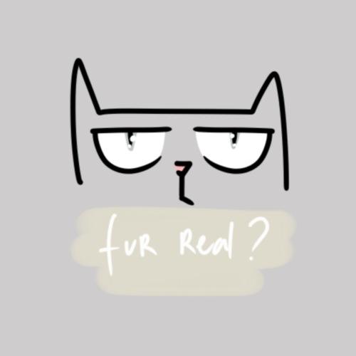 Fur Real? - T-shirt Premium Homme