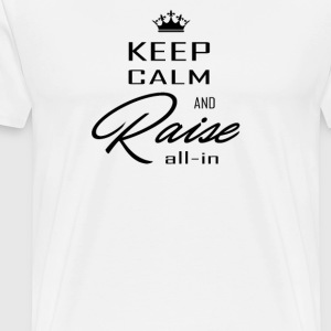 keep calm black - T-shirt Premium Homme
