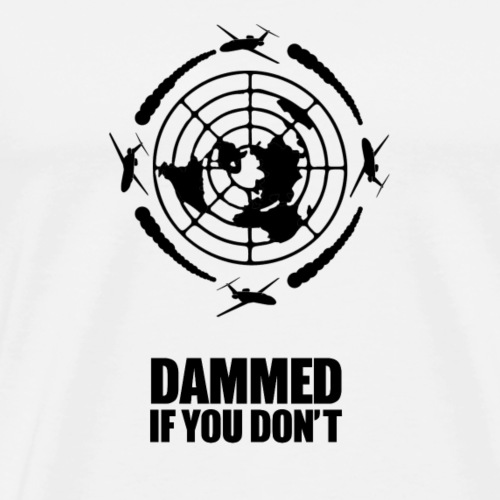 chemtrail conspiracy - Men's Premium T-Shirt
