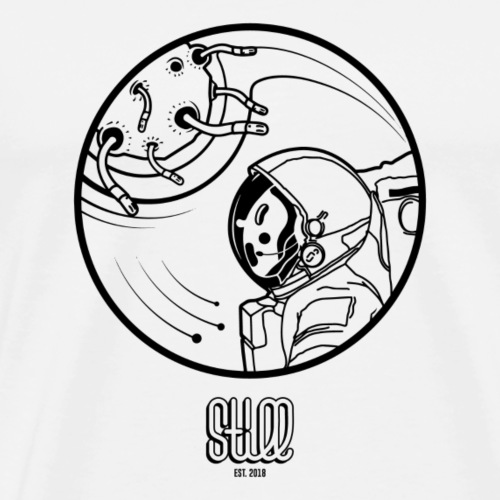 CRAZY SPACE - Maglietta Premium da uomo