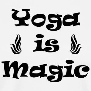 yoga is magic - Mannen Premium T-shirt
