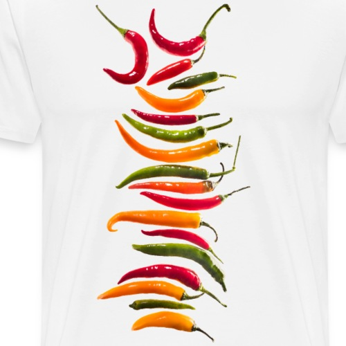 hot chili - Männer Premium T-Shirt
