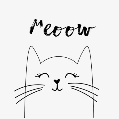 Meow Cat - Männer Premium T-Shirt