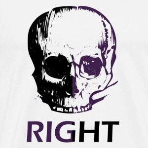 Right - Premium-T-shirt herr