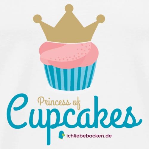 Princess of Cupcakes - Männer Premium T-Shirt