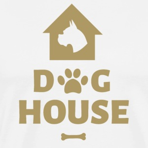 Dog House - Premium-T-shirt herr