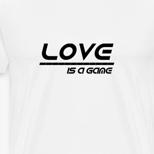 Love (schwarz) - Männer Premium T-Shirt