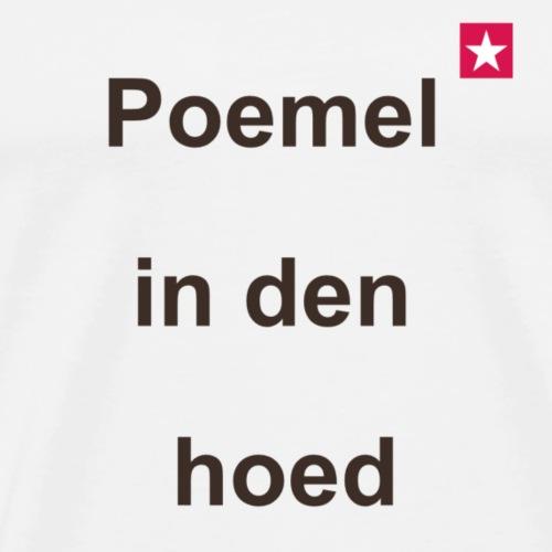 Poemelindenhoed mr vert def b - Mannen Premium T-shirt