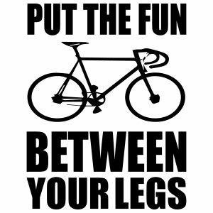 Put the fun between your legs - Mannen Premium T-shirt