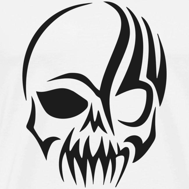 tribals skull