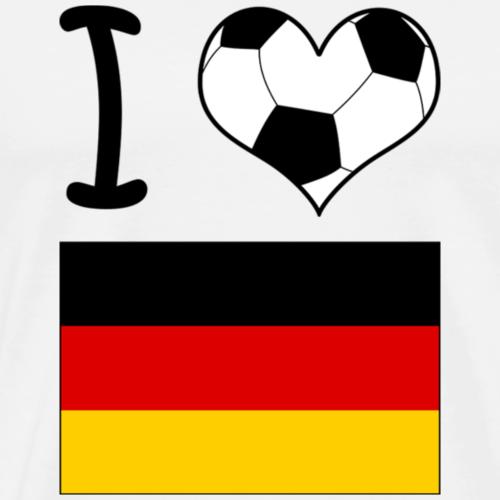 I ♥ Deutschland / Geschenkidee / Geschenk - Männer Premium T-Shirt