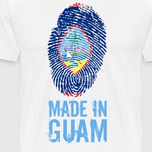 Made In Guam / guahan - Premium T-skjorte for menn