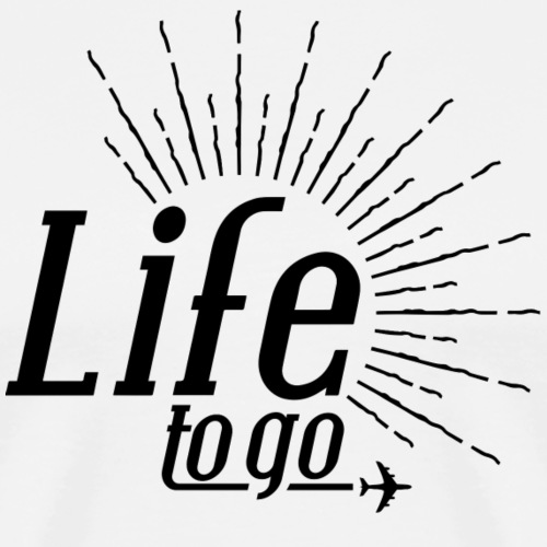 Life to go - The Black One - by Life to go - Männer Premium T-Shirt